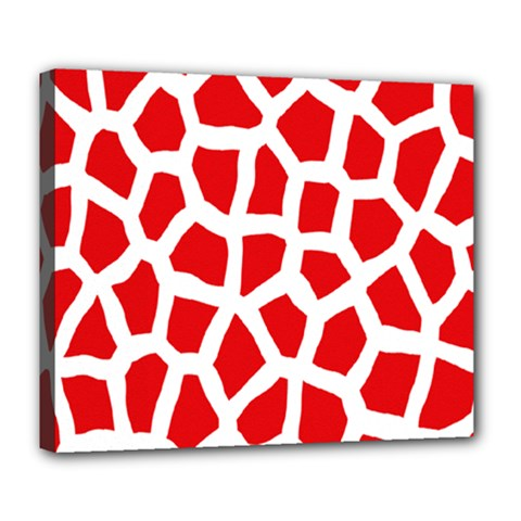 Animal Animalistic Pattern Deluxe Canvas 24  X 20
