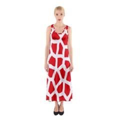 Animal Animalistic Pattern Sleeveless Maxi Dress