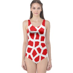 Animal Animalistic Pattern One Piece Swimsuit