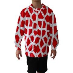 Animal Animalistic Pattern Hooded Wind Breaker (kids)