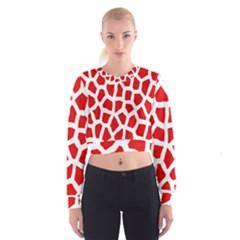 Animal Animalistic Pattern Women s Cropped Sweatshirt