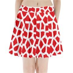 Animal Animalistic Pattern Pleated Mini Skirt