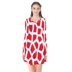 Animal Animalistic Pattern Flare Dress