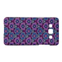 African Fabric Flower Purple Samsung Galaxy A5 Hardshell Case  View1