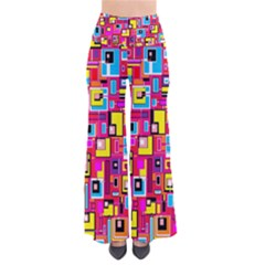 File Digital Disc Red Yellow Rainbow Pants