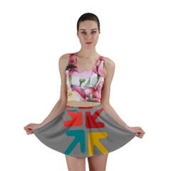 Arrows Center Inside Middle Mini Skirt