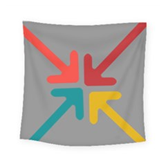 Arrows Center Inside Middle Square Tapestry (small)
