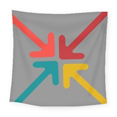 Arrows Center Inside Middle Square Tapestry (large)