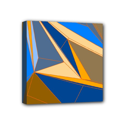 Abstract Background Pattern Mini Canvas 4  X 4