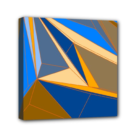 Abstract Background Pattern Mini Canvas 6  X 6