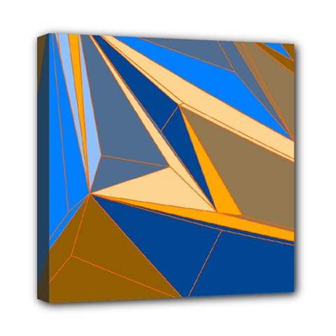 Abstract Background Pattern Mini Canvas 8  x 8