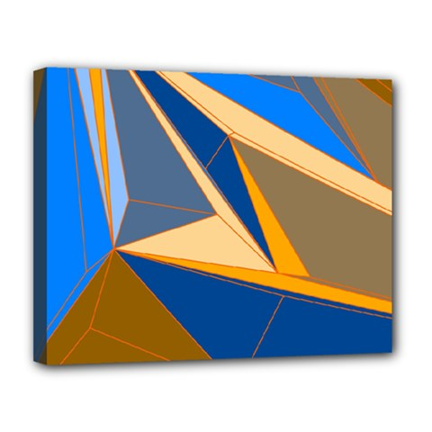 Abstract Background Pattern Canvas 14  X 11