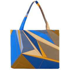 Abstract Background Pattern Mini Tote Bag