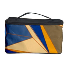 Abstract Background Pattern Cosmetic Storage Case