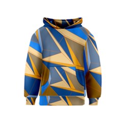 Abstract Background Pattern Kids  Pullover Hoodie