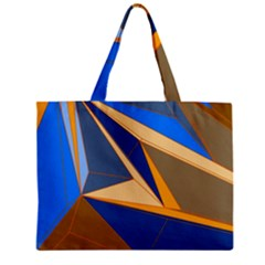 Abstract Background Pattern Zipper Mini Tote Bag