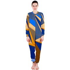 Abstract Background Pattern Onepiece Jumpsuit (ladies)