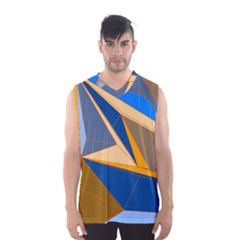Abstract Background Pattern Men s Basketball Tank Top