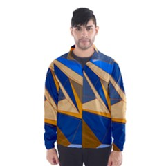 Abstract Background Pattern Wind Breaker (men)