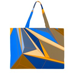 Abstract Background Pattern Large Tote Bag