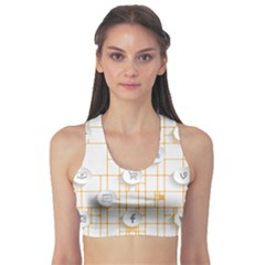 Icon Media Social Network Sports Bra