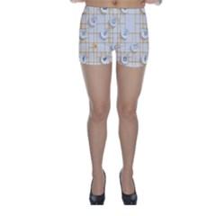 Icon Media Social Network Skinny Shorts