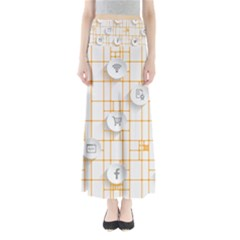 Icon Media Social Network Maxi Skirts
