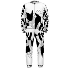 Arrows Top Below Circuit Parts Onepiece Jumpsuit (men)