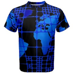 Network Networking Europe Asia Men s Cotton Tee