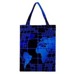 Network Networking Europe Asia Classic Tote Bag