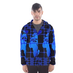 Network Networking Europe Asia Hooded Wind Breaker (men)