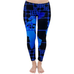 Network Networking Europe Asia Classic Winter Leggings