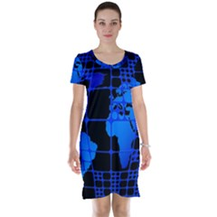 Network Networking Europe Asia Short Sleeve Nightdress