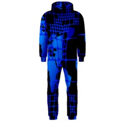 Network Networking Europe Asia Hooded Jumpsuit (men)