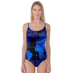 Network Networking Europe Asia Camisole Leotard
