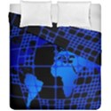 Network Networking Europe Asia Duvet Cover Double Side (California King Size) View1