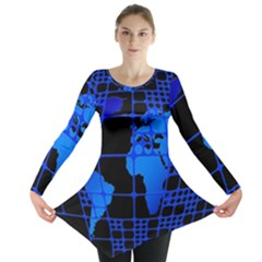 Network Networking Europe Asia Long Sleeve Tunic
