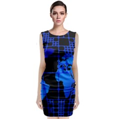 Network Networking Europe Asia Classic Sleeveless Midi Dress
