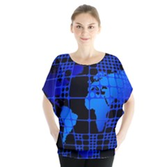 Network Networking Europe Asia Blouse