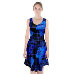 Network Networking Europe Asia Racerback Midi Dress
