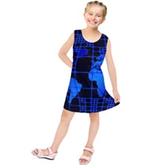 Network Networking Europe Asia Kids  Tunic Dress