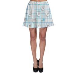 Icon Media Social Network Skater Skirt