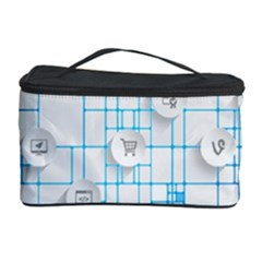 Icon Media Social Network Cosmetic Storage Case