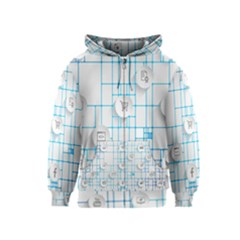 Icon Media Social Network Kids  Zipper Hoodie