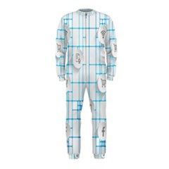 Icon Media Social Network Onepiece Jumpsuit (kids)
