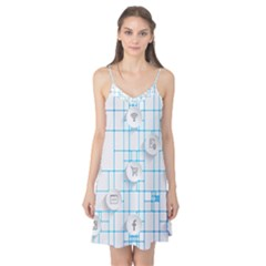 Icon Media Social Network Camis Nightgown