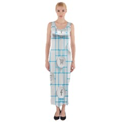 Icon Media Social Network Fitted Maxi Dress