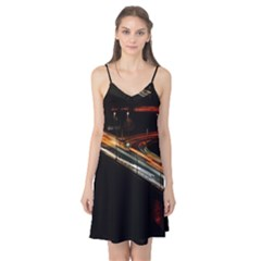 Highway Night Lighthouse Car Fast Camis Nightgown