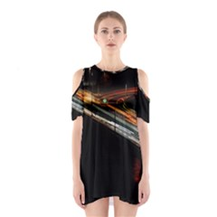 Highway Night Lighthouse Car Fast Shoulder Cutout One Piece