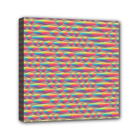 Background Abstract Colorful Mini Canvas 6  x 6